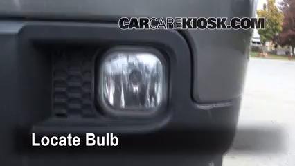 2007 Ford Ranger FX4 4.0L V6 (4 Door) Luces Luz de niebla (reemplazar foco)