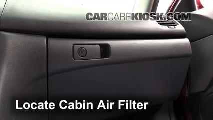 2007 Honda Accord Hybrid 3.0L V6 Filtre à air (intérieur)
