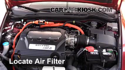 2007 Honda Accord Hybrid 3.0L V6 Filtre à air (moteur)