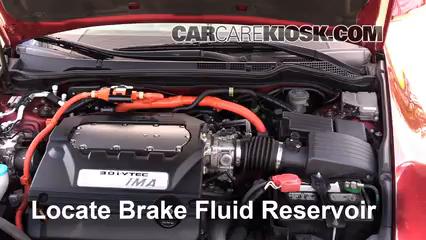 2007 Honda Accord Hybrid 3.0L V6 Liquide de frein