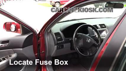 2007 Honda Accord Hybrid 3.0L V6 Fusible (intérieur)