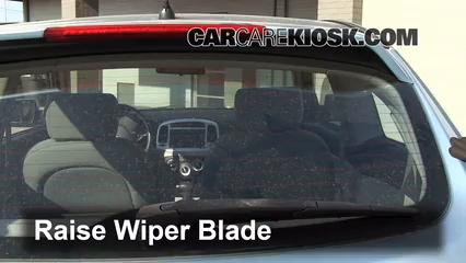 2007 Hyundai Accent SE 1.6L 4 Cyl. Windshield Wiper Blade (Rear)