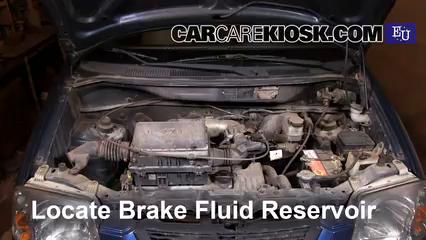 2007 Hyundai Atos Prime Comfort 1.1L 4 Cyl. Brake Fluid