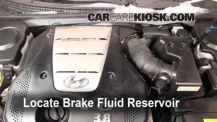2007 Hyundai Azera SE 3.8L V6 Brake Fluid