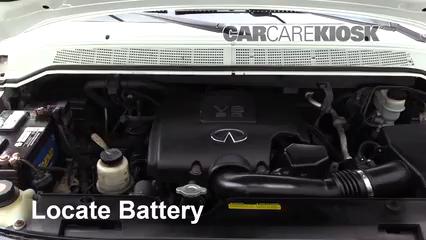 2007 Infiniti QX56 5.6L V8 Batterie