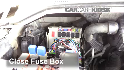 Replace a Fuse: 2004-2010 Infiniti QX56 - 2007 Infiniti QX56 5.6L V8CarCareKiosk