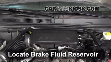2007 Jeep Grand Cherokee Laredo 3.7L V6 Brake Fluid