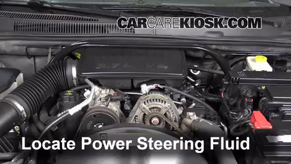2007 Jeep Grand Cherokee Laredo 3.7L V6 Power Steering Fluid