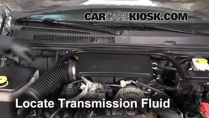 2007 Jeep Grand Cherokee Laredo 3.7L V6 Transmission Fluid