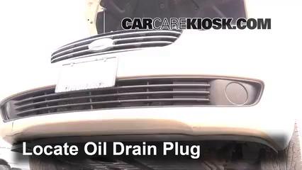 2007 Kia Optima EX 2.4L 4 Cyl. Aceite Cambiar aceite y filtro de aceite