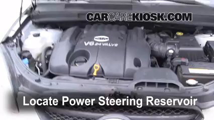 2007 Kia Rondo LX 2.7L V6 Power Steering Fluid