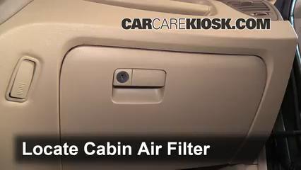 2007 Kia Sportage LX 2.7L V6 Air Filter (Cabin)