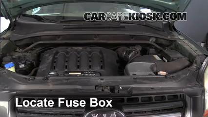 2007 Kia Sportage LX 2.7L V6 Fusible (motor) Cambio