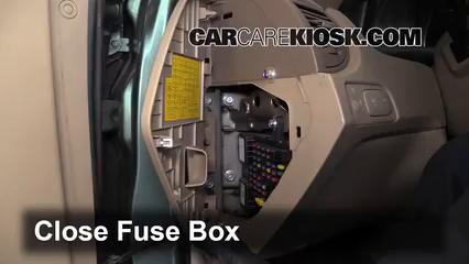 Interior Fuse Box Location: 2005-2010 Kia Sportage - 2006 Kia Sportage LX  2.0L 4 Cyl.CarCareKiosk