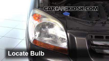2007 Kia Sportage LX 2.7L V6 Luces Luz de giro delantera (reemplazar foco)