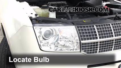 2007 Lincoln MKX 3.5L V6 Luces Luz de carretera (reemplazar foco)