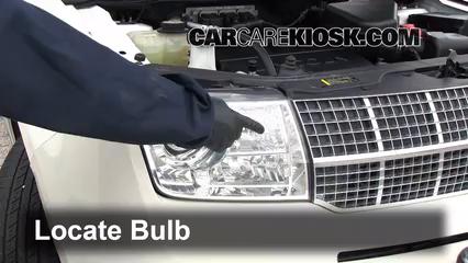2007 Lincoln MKX 3.5L V6 Luces Luz de estacionamiento (reemplazar foco)