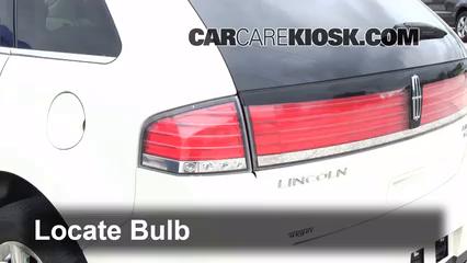 2007 Lincoln MKX 3.5L V6 Luces Luz trasera (reemplazar foco)