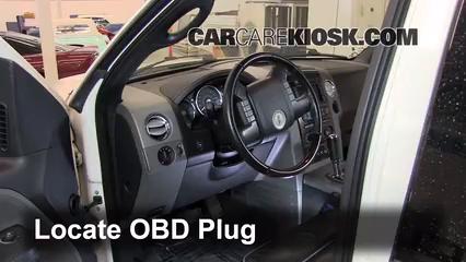 2007 Lincoln Mark LT 5.4L V8 Compruebe la luz del motor