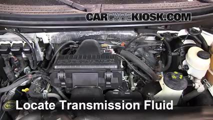 2007 Ford F-150 XL 4.2L V6 Standard Cab Pickup (2 Door) Líquido de transmisión