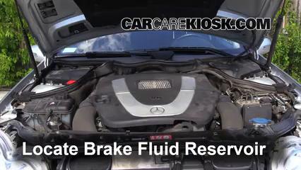 2007 Mercedes-Benz C280 4Matic 3.0L V6 Brake Fluid
