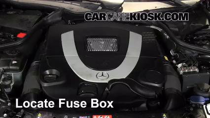 2007 Mercedes-Benz CLK550 5.5L V8 Convertible (2 Door) Fuse (Engine)