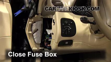 interior fuse box location: 2003-2009 mercedes-benz clk550 - 2007 mercedes-benz  clk550 5.5l v8 convertible (2 door)  carcarekiosk