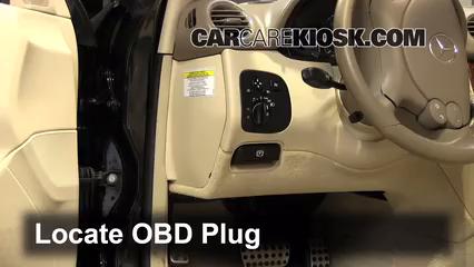 2007 Mercedes-Benz CLK550 5.5L V8 Convertible (2 Door) Check Engine Light