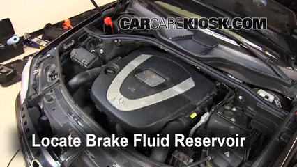 2007 Mercedes-Benz ML350 3.5L V6 Brake Fluid
