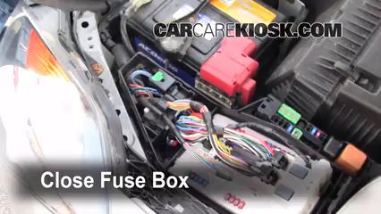 replace a fuse: 2007-2013 nissan altima - 2008 nissan altima s 2.5l 4 cyl.  sedan (4 door)  carcarekiosk