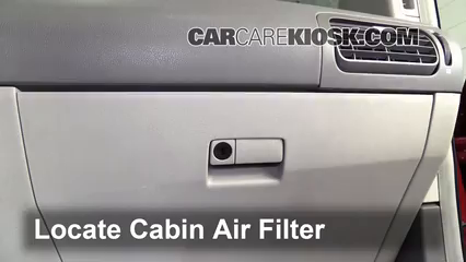 2007 Nissan Quest 3.5L V6 Air Filter (Cabin)