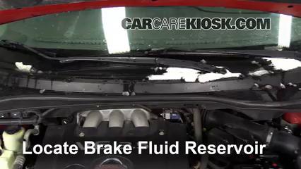 2007 Nissan Quest 3.5L V6 Brake Fluid