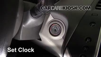 2007 Nissan Quest 3.5L V6 Clock
