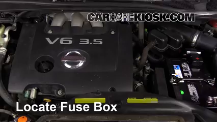 2007 Nissan Quest 3.5L V6 Fuse (Engine)