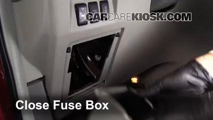 Interior Fuse Box Location 2004 2009 Nissan Quest 2007 Nissan Quest 3 5l V6