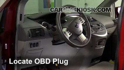 2007 Nissan Quest 3.5L V6 Check Engine Light