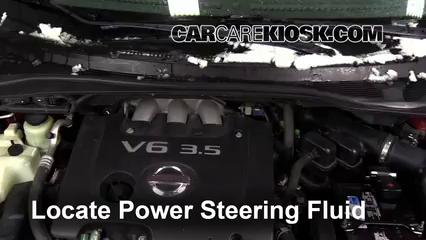 2007 Nissan Quest 3.5L V6 Power Steering Fluid