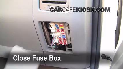 interior fuse box location: 2004-2015 nissan titan - 2007 nissan titan se  5.6l v8 crew cab pickup  carcarekiosk