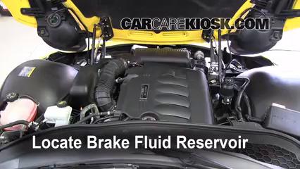 2007 Pontiac Solstice 2.4L 4 Cyl. Brake Fluid