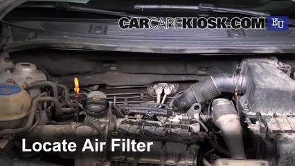 2007 Skoda Roomster HTP 1.2L 3 Cyl. Filtro de aire (motor)