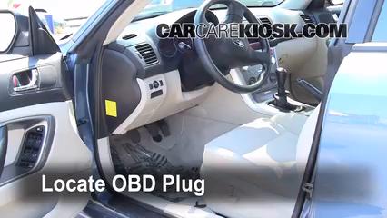 2007 Subaru Legacy 2.5i Special Edition 2.5L 4 Cyl. Sedan Compruebe la luz del motor