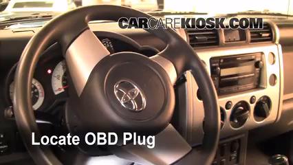 2007 Toyota FJ Cruiser 4.0L V6 Check Engine Light