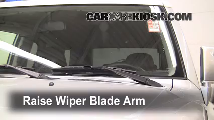 2007 Toyota FJ Cruiser 4.0L V6 Windshield Wiper Blade (Front)