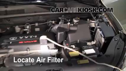 2007 Toyota RAV4 2.4L 4 Cyl. Filtro de aire (motor)