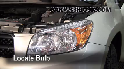 2007 Toyota RAV4 2.4L 4 Cyl. Luces