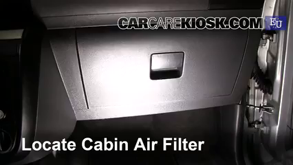 2007 Volkswagen Fox Urban 1.4L 4 Cyl. Air Filter (Cabin)