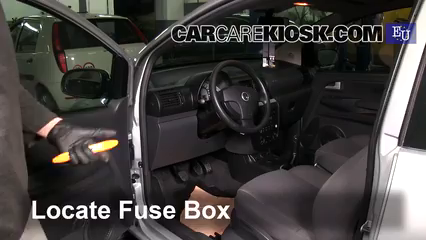 2007 Volkswagen Fox Urban 1.4L 4 Cyl. Fuse (Interior)