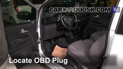 2007 Volkswagen Fox Urban 1.4L 4 Cyl. Check Engine Light