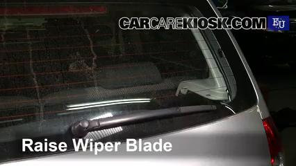 2007 Volkswagen Fox Urban 1.4L 4 Cyl. Windshield Wiper Blade (Rear)