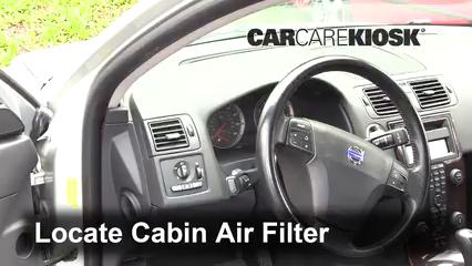 2007 Volvo V50 2.4i 2.4L 5 Cyl. Air Filter (Cabin)